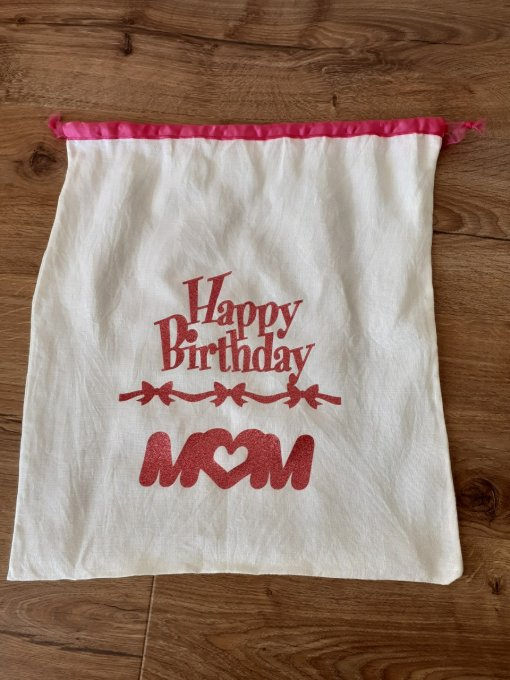 "Sac cadeau ""Happy Birthday to Me !"" - Copie"